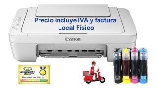 Canon Impresora Sistema De Tinta Continua Mg2510/mg2410