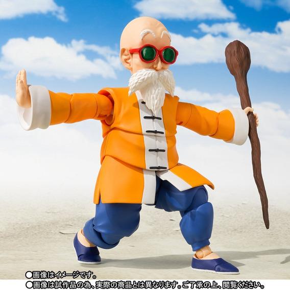 Mestre Kame Sennin Roshi S.h Figuarts Dragon Ball