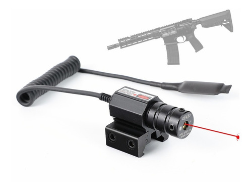 Mira Tactica Laser Interruptor Red Dot Para Pistola Rifle