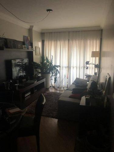 Imagem 1 de 21 de Apartamento Com 3 Dormitórios À Venda, 74 M² Por R$ 425.000,00 - Vila Valparaíso - Santo André/sp - Ap9974