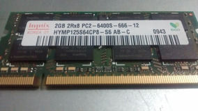 Notebook Acer Lg Hp Samsung Memória 2gb Ddr2 667 Notebook