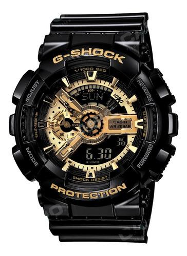 Casio G-shock Youth Ga-110gb-1a Ana-digi Negro/dorado