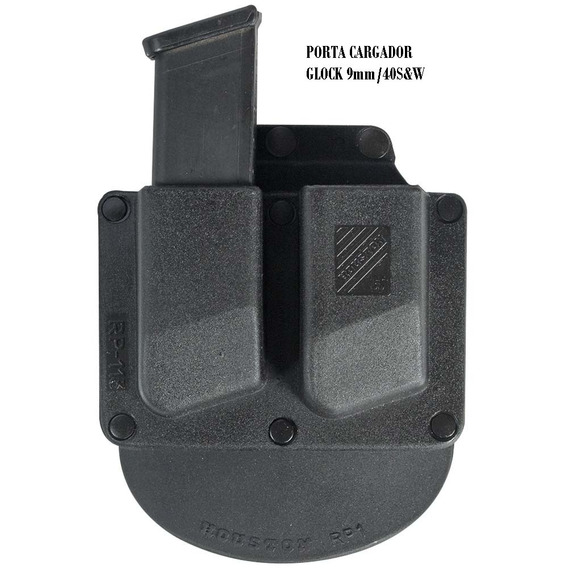 Porta Cargador Doble Houston Rp113g 9mm/40sw Glock