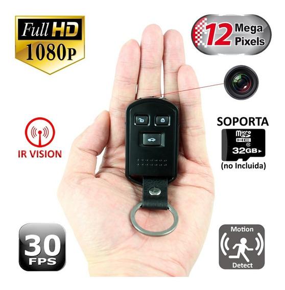 Llave Auto Mini Camara Espia Oculta Full Hd Mic Seguridad C2