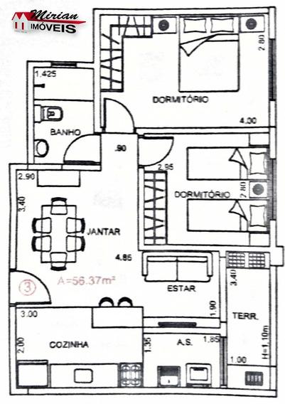 Lançamento Apartamento Com 2 Dormitórios , Piscina - Financiamento Caixa - Ap00137 - 33422587