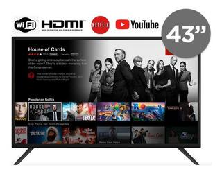 Smart Tv 43 Led Horion 43ds1 Netflix Youtube Hdmi Vga Usb
