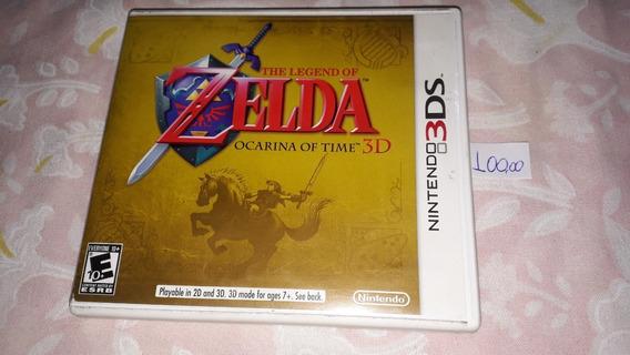 Zelda Ocarina Of Time 3d 100%original Completo Nintendo 3ds