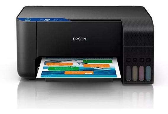 Impressora Wi-fi Multifuncional Epson L3110 Ecotank Bivolt