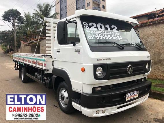 Caminhão Vw 9-160 C/ Carrocaria Ano 2012 Super Novo