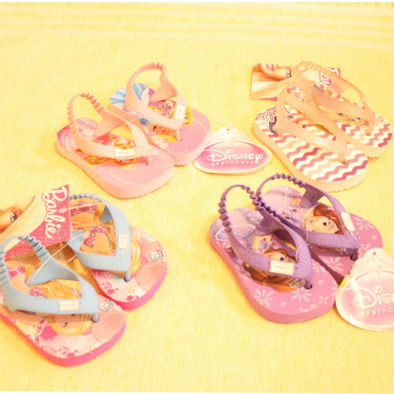 Ojotas Niñas Barbie Princesita Sofia Princesas Aurora Nena