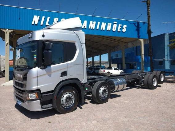 Scania P 320 No Chassi, 8x2, 2019 Nilson Caminhões 649