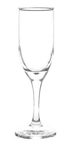 Copas De Vidrio Champagne Cristar Aragon Versalles 186cc X12