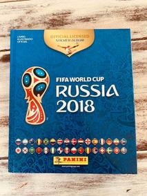 Álbum Fifa World Cup Rússia 2018 Completo