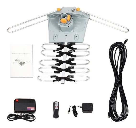Hdtv Sobetter Amplificado Antena Motor De Tv Digital 150 Qu