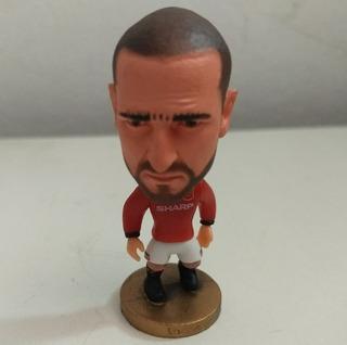 Muñeco Cantona Manchester United Cabezones Fútbol