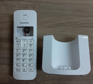 Carcaças P/ Telefone Sem Fio Branco Panasonic Kxtgb110lb