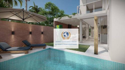 Casa Com 3 Dormitórios À Venda, 210 M² Por R$ 830.000,00 - Vila Monte Alegre - Paulínia/sp - Ca1362