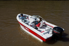 Lancha Tracker Geuna 540 Con Mercury 60 Hp 2 T Full.unico