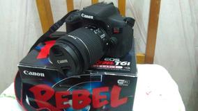 Camêra Fotográfica Canon T6i + Bag + Tripé + Cartão