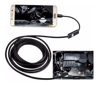 Câmera Sonda Boroscópio Celular Android Usb 5.0 Metros Led