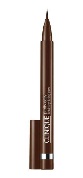 Clinique Pretty Easy L Eye Pen Brown - C. Delineadora 2g Blz