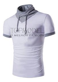 Camisa Roupas Masculinas Moda Casual Blusas Camisas