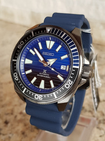 Seiko Samurai Save The Ocean Gunmetal Srpd09