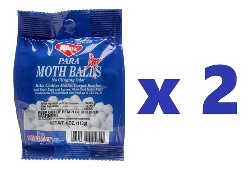 Bolas Naftalina Neptalina Moth Balls Producto  Americano