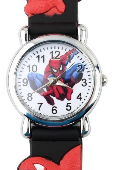 Relógio Para Criança Personagem Homem Aranha