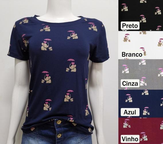 C/10 T-shirts Blusas Feminina Roupa Atacado Revenda Camiseta