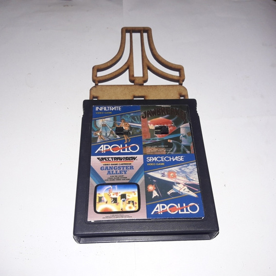 Gangsteralley/ Space Chase/ Infiltrate/jawbreaker 4in1 Atari