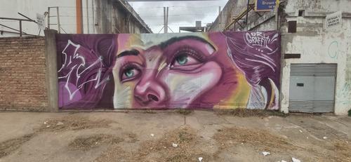 Imagen 1 de 10 de Murales Grafitti Pintados A Mano Bares Restaurantes Hogar