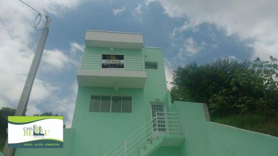Casa Com 03 Dormitórios Há 05 Minutos Da Estação Franco Da Rocha - Ca0346