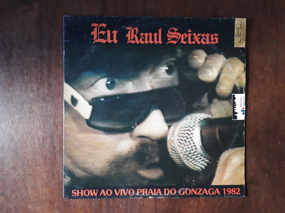 Lp Vinil Eu Raul Seixas Show Ao Vivo Praia Do Gonzaga 1982