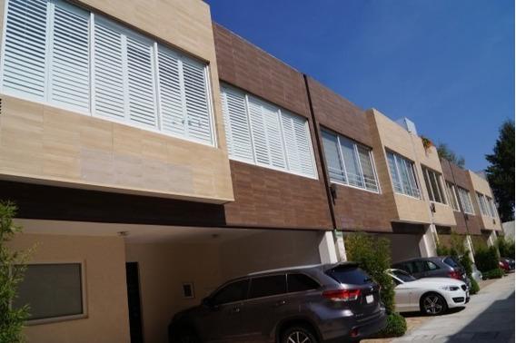 Casa En Condominio Horizontal En Venta - Huipulco