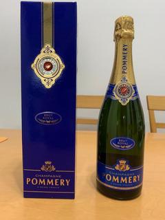 Champagne Pommery Francés En Caja.