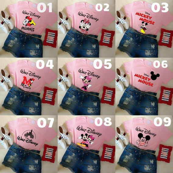 Roupa Feminina Tumblr Blusa Verão Camiseta Mickey Barato!