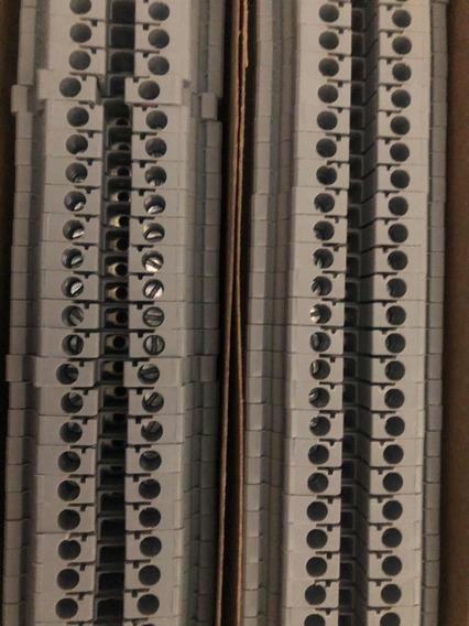10 Conector Borne Sak 2,5mm Espessura 5mm Cinza Conectwell