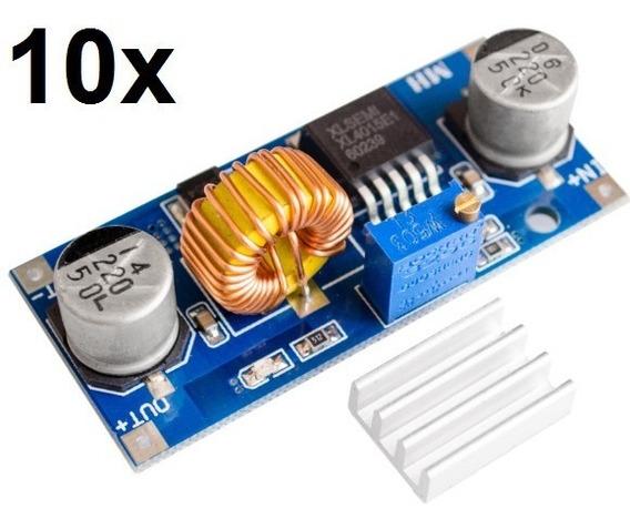 10x Regulador De Tensão Xl4015 Conversor Step Down Arduino