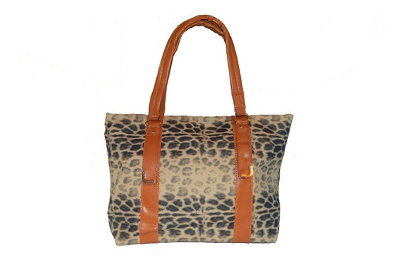 Cartera Simil Cuero Animal Print