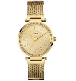 Relógio Guess Feminino Dourado 92580lpgdda2 W0638l2 Guess