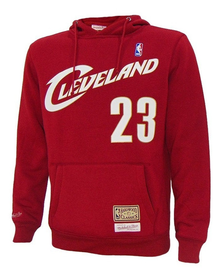 Moletom Mitchell & Ness Cleveland Cavaliers Lebron James Nba