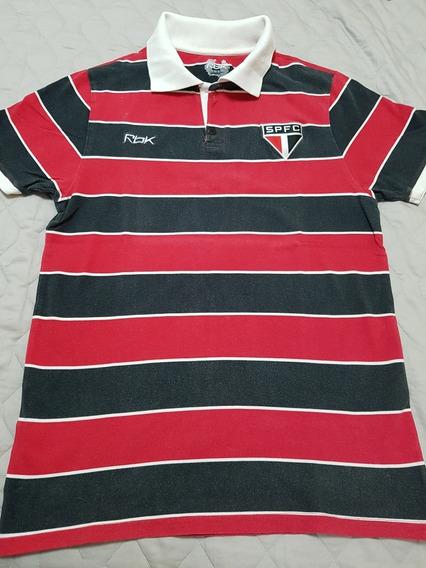 Camisa Sao Paulo Penta Unico Gola Polo