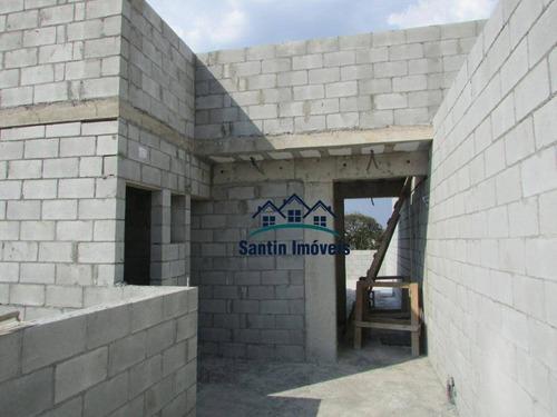 Cobertura Com 2 Quartos, (01 Suíte ) Elevador , Vaga Coberta À Venda, 89 M² - Campestre - Santo André/sp - Co0564