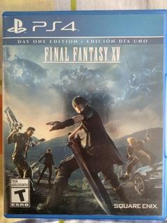 Final Fantasy Xv Para Ps4