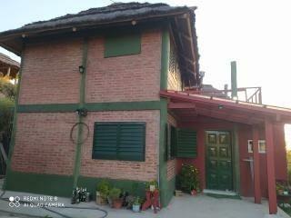 Cabaña Casa En Montaña 8 Hambientes Barrio Privado ,trapiche