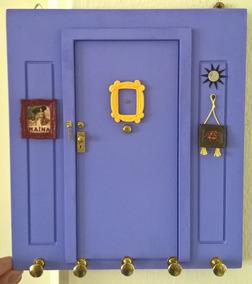 Quadro Decorativo Da Série Friends Com Porta Chaves