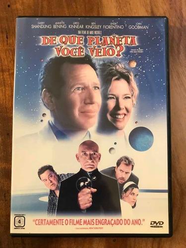 Dvd De Que Planeta Você Veio? - Mike Nichols   Mercado Livre