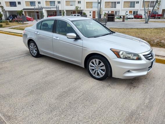 Honda Accord 3.5 Ex Sedan V6 Piel Abs Qc Cd Mt 2011