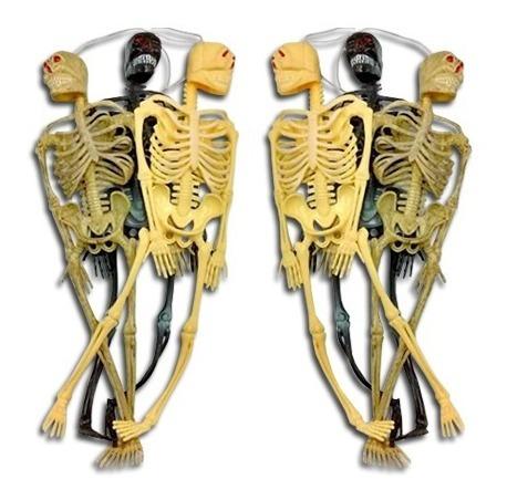 Esqueleto De Goma Grande Elección 25 Cm Hallloween Medicina